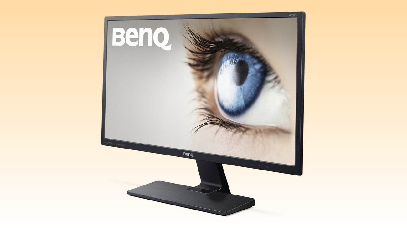 "Monitor BenQ 24"" HDMI con audio integrato"